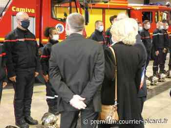Le député Gregory Labille devient pompier à Ham - Courrier Picard