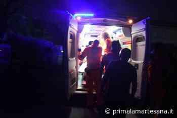 Incidente a Brugherio e caduta a Vimodrone SIRENE DI NOTTE - Prima la Martesana