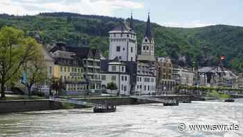 Zwei Fahrgastschiffe kollidieren auf dem Rhein bei Boppard - SWR