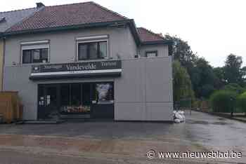 Grotestraat in Wijer weer open, slager kan heropenen - Het Nieuwsblad