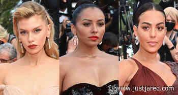 Stella Maxwell, Kat Graham, & Georgina Rodriguez Bring the Glamour to Cannes Film Festival 2021 - Just Jared