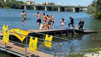 Big Jump all'imbarcadero di Casale Monferrato - Monferrato Web TV