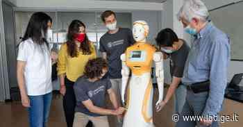 A Povo c'è Ari, l'umanoide venuta a imparare come si lavora in ospedale - l'Adige - Quotidiano indipendente del Trentino Alto Adige