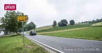 Neuer Radweg zwischen Mörlenbach und Birkenau - Echo Online
