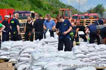 Situation bleibt angespannt - Germersheim bereitet sich auf den Ernstfall vor - die neue welle