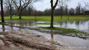 Rhein-Hochwasser in der Pfalz wird ständig beobachtet - SWR