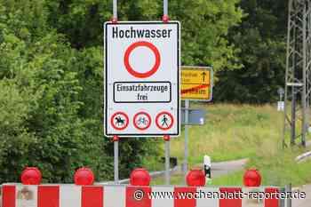 Hochwasser am Rhein im Kreis Germersheim * Update: Bis jetzt halten die Deiche - aber die Belastung steigt - Germersheim - Wochenblatt-Reporter
