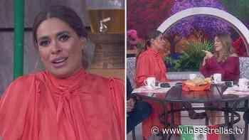 """Galilea Montijo defiende a Andrea Legarreta de las críticas en redes sociales: """"Ya quisieran lucir así"""" - Las Estrellas"""