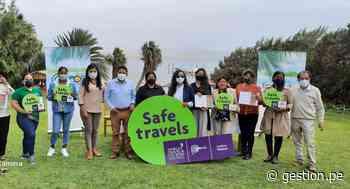 Diversas empresas turísticas de Paracas reciben el Sello Safe Travels - Diario Gestión