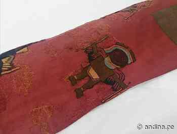Perú recibe los últimos textiles de la cultura Paracas que se encontraban en Suecia - Agencia Andina