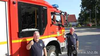 Neue Technik: Fahrzeuge der Feuerwehr Tornesch fahren nun mit Abbiegeassistent   shz.de - shz.de