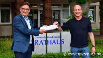 Bürgermeisterwahl 2021 in Ganderkesee: Henry Peukert legt 160 Unterschriften vor - Nordwest-Zeitung