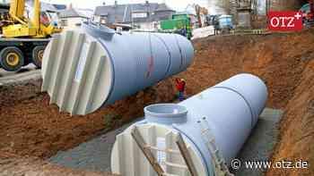 Löschwasserzisterne muss bis Produktionsbeginn einer neuer Firma in Schleiz erreichtet sein - Ostthüringer Zeitung