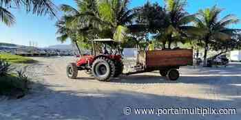 Praia dos Anjos, em Arraial do Cabo, recebe ação de limpeza e monitoramento - Portal Multiplix