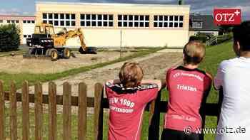 Ein Beachvolleyballfeld für Remptendorf - Ostthüringer Zeitung