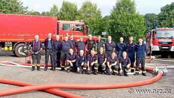 Feuerwehr-Kameraden nach Unwetter-Einsatz zurück in Emmerich - NRZ
