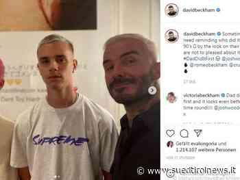 Back to the roots: David Beckham färbt Haar wieder blond - Suedtirol News