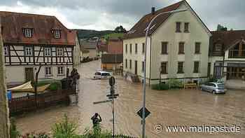 Michelau Volkach-Hochwasser: Hundertprozentigen Schutz gibt es nicht - Main-Post