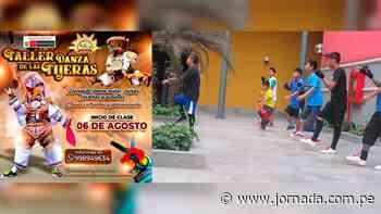 «Qaqañiti de Puquio» dictará talleres virtuales y presenciales de danza de tijeras - Jornada