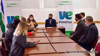 Provincia y municipio firman convenio para obra de pavimento en Villa Elisa - Elonce.com