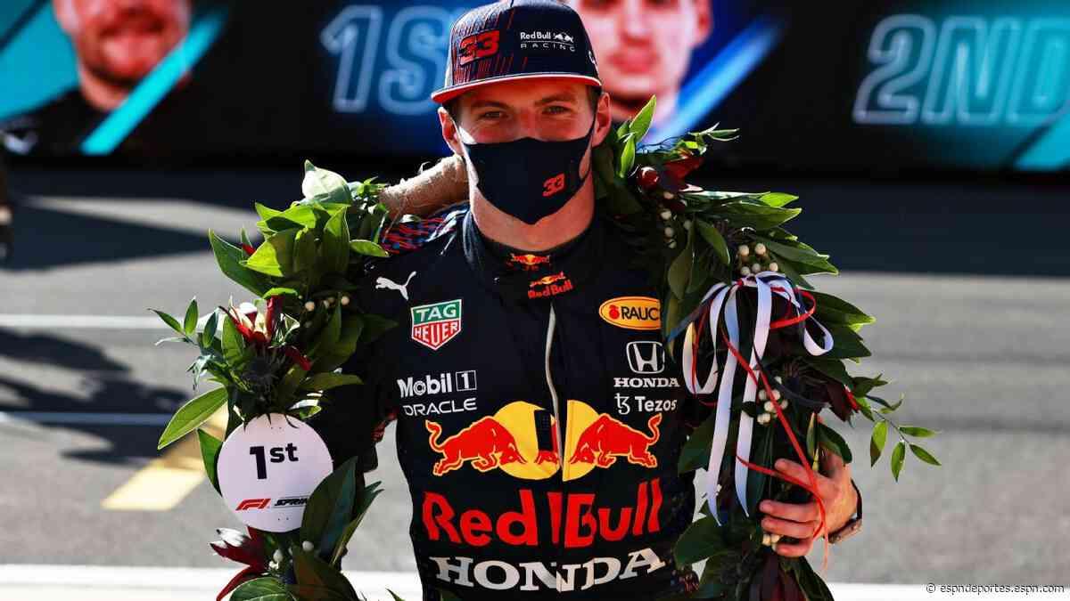 Max Verstappen se llevó la corona de laureles en la primer 'Sprint Qualy' de la F1 - ESPN Deportes