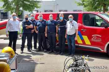 Brandweer Vlaamse Ardennen helpt in overstroomde gebieden