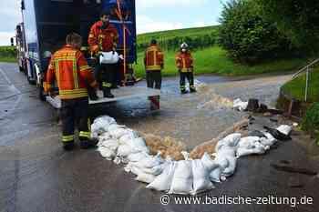 Der Starkregen lässt in Haltingen etliche Keller volllaufen - Weil am Rhein - Badische Zeitung