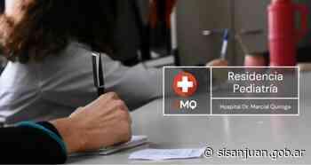 El Hospital Marcial Quiroga vuelve a recibir residentes para pediatría - SI SAN JUAN