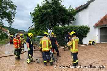 Helfer aus dem Landkreis Emmendingen im Hochwassergebiet - Kreis Emmendingen - Badische Zeitung