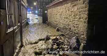 Hochwasser in Monschau: Flutwelle vom Laufenbach - Aachener Nachrichten