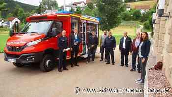 Neues Langenbacher Feuerwehrfahrzeug - Kaum eingetroffen, schon im Einsatz - Schwarzwälder Bote