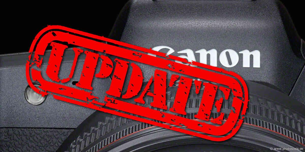 Canon bringt Firmware-Updates für EOS R5, EOS R6 und EOS-1D X Mark III - photoscala