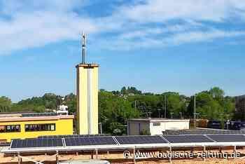 Wie Emmendingen die Ausbeute in Sachen Sonnenenergie schnell verdoppeln will - Emmendingen - Badische Zeitung