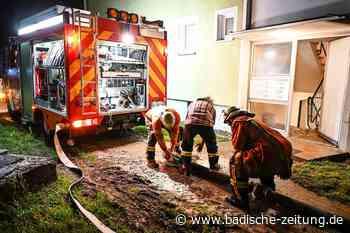 Emmendinger Helfer sind unterwegs in Hochwassergebiet - Kreis Emmendingen - Badische Zeitung