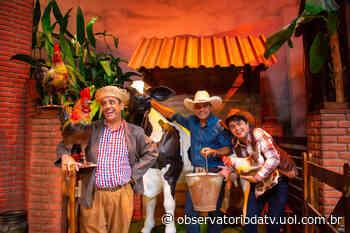 Terra da Padroeira recebe Eduardo Araújo e a dupla Lorena & Rafaela - Observatório da TV