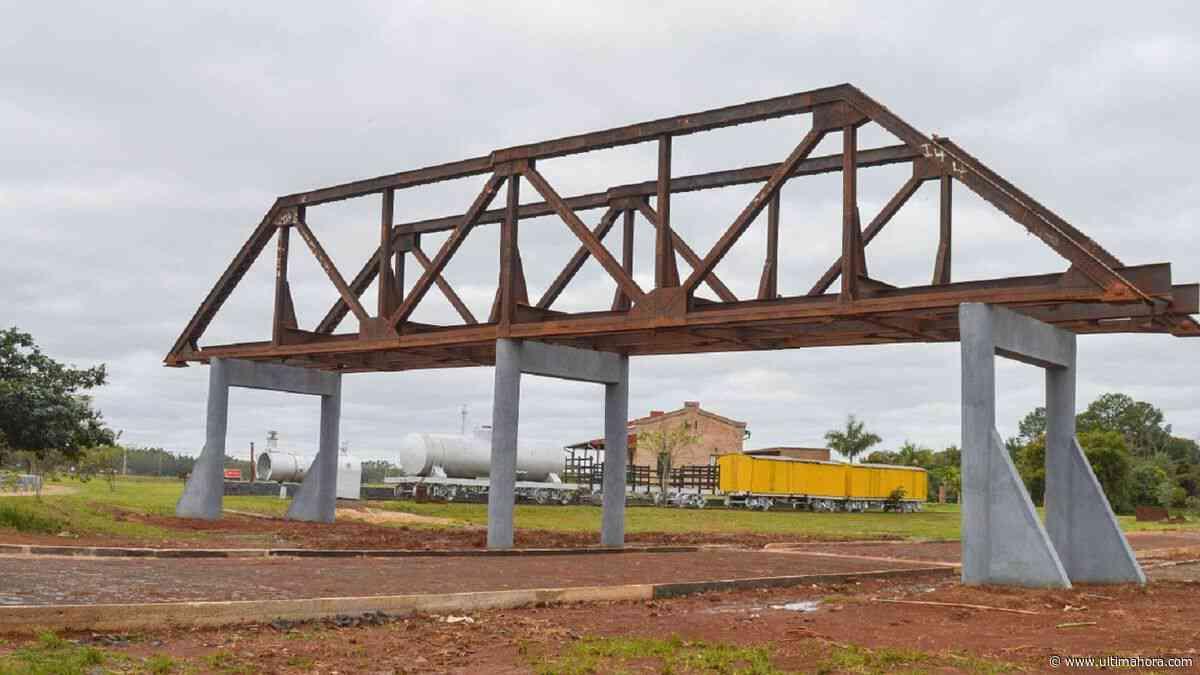 Carmen del Paraná rescata puente del ferrocarril Carlos Antonio López - ÚltimaHora.com