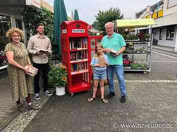 Rote Telefonzelle als Bücherregal am Ringmarkt Neuwied eröffnet - NR-Kurier - Internetzeitung für den Kreis Neuwied