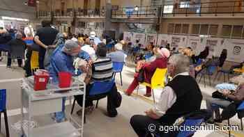 La semana termina en Villa Mercedes con la colocación de 2.600 vacunas - Agencia de Noticias San Luis