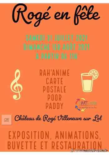 Festival « Rogé en fête » Villeneuve-sur-Lot samedi 31 juillet 2021 - Unidivers
