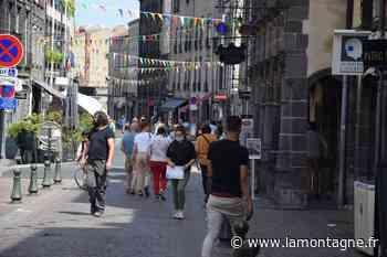 Commerces - Des premiers pas hésitants pour la piétonnisation du centre-ville de Riom (Puy-de-Dôme) les samedis cet été - La Montagne