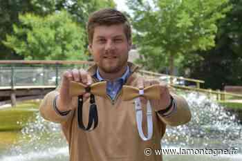 Economie - A Riom (Puy-de-Dôme), il lance la marque de noeuds papillon Saint-Léon, fabriqués grâce à une imprimante 3D - La Montagne