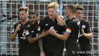 FC St. Pauli: 2:2 gegen Hertha BSC – Fans feiern mit Gras - BILD