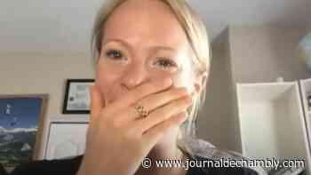 Jacqueline Simoneau, émue aux larmes - Le journal de Chambly - Le Journal de Chambly