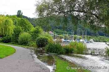Bodman-Ludwigshafen: Der Bodenseepegel steigt weiter: Bilder vom Ufer in Bodman-Ludwigshafen - SÜDKURIER Online
