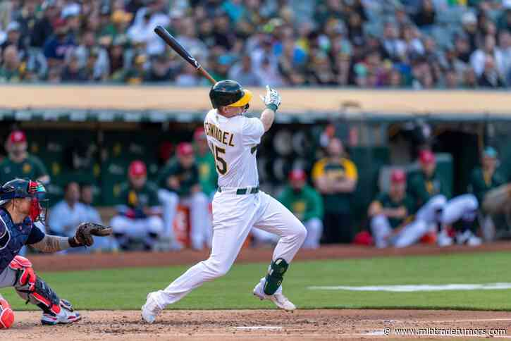 Cubs Claim Frank Schwindel Off Waivers From Athletics