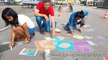 Neues Event in Hüfinger Ortsteil - Street Art erobert nun auch Behla - Schwarzwälder Bote