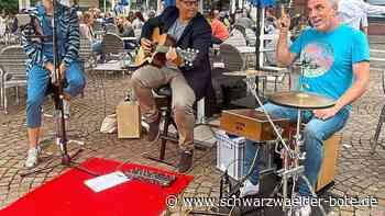 Livemusik in Donaueschingen - Das Samstagsspektakel bringt ein neues Konzert-Format in die Innenstadt - Schwarzwälder Bote