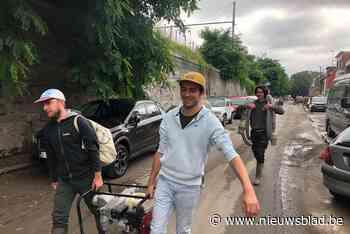 """Duffelaars met waterpompen naar rampgebied: """"Ze weten niet hoe ze moeten reageren op de grote toevloed kleren en spullen"""""""