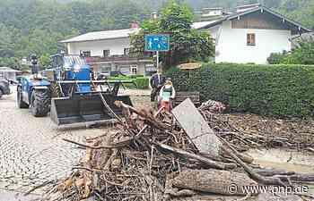 THW Deggendorf hilft im Berchtesgadener Land - Deggendorf - Passauer Neue Presse