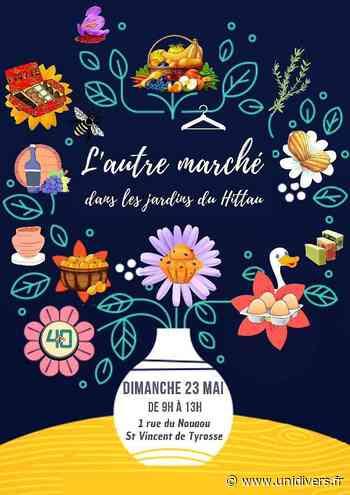 2021-05-23 Saint-Vincent-de-Tyrosse L'autre marché, Jardins du restaurant Le Hittau 1 Rue du Nouaou. Landes - Unidivers
